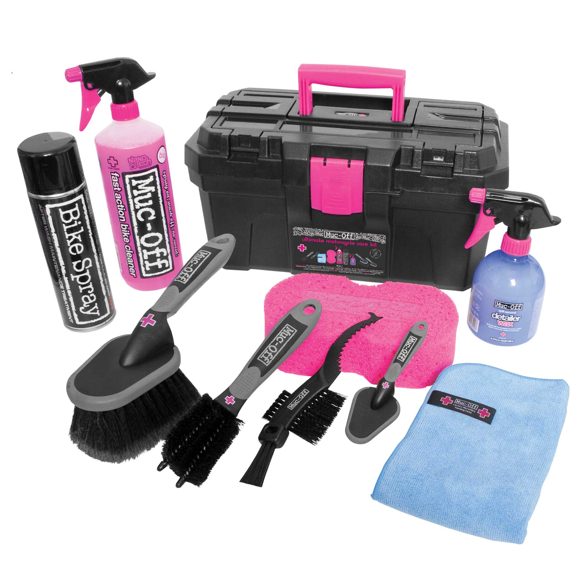 Muc-Off Ultimate Bicycle Kit (Kompletní sada pro mytí a konzervaci)