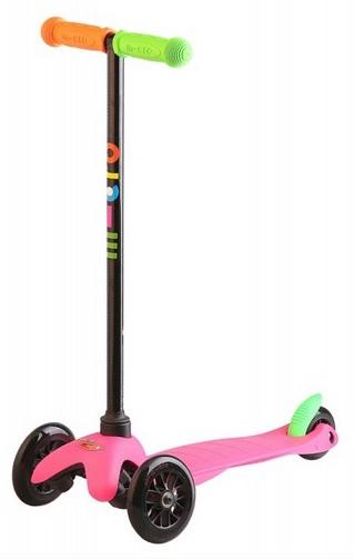 Mini Micro Sporty Neonová - růžová - ZDARMA DOPRAVNÉ a reflexní vesta