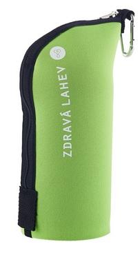TERMOOBAL Zdravá lahev CABRIO - 0,5l zelený mint (Termoobal pro Zdravou lahev, barva zelená mint)