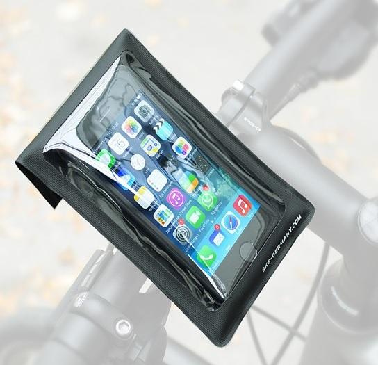 Obal na mobil na řídítka SKS SMARTBOY, barva černá