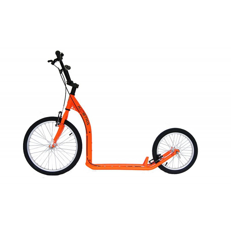 Koloběžka KOSTKA Hill Fun, oranžová reflexní - ZDARMA dopravné (Nakupujte u autorizovaného prodejce KOSTKA!)