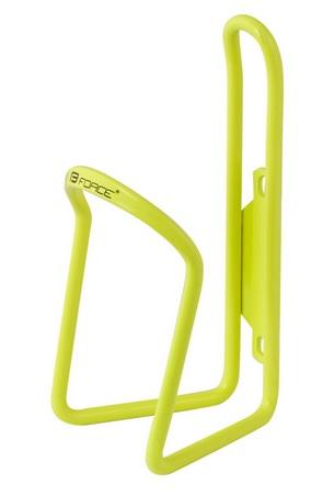 Košík láhve FORCE KLAS hliníkový, žlutý