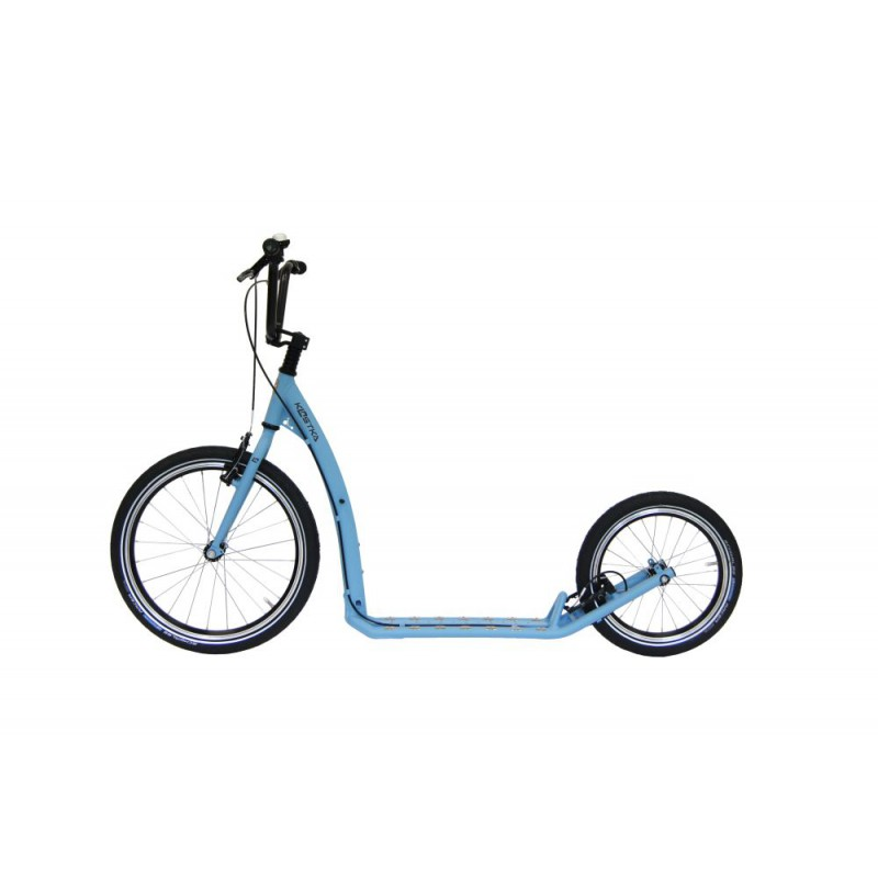 Koloběžka KOSTKA Hill Max, pastel blue - ZDARMA dopravné (Nakupujte u autorizovaného prodejce KOSTKA!)