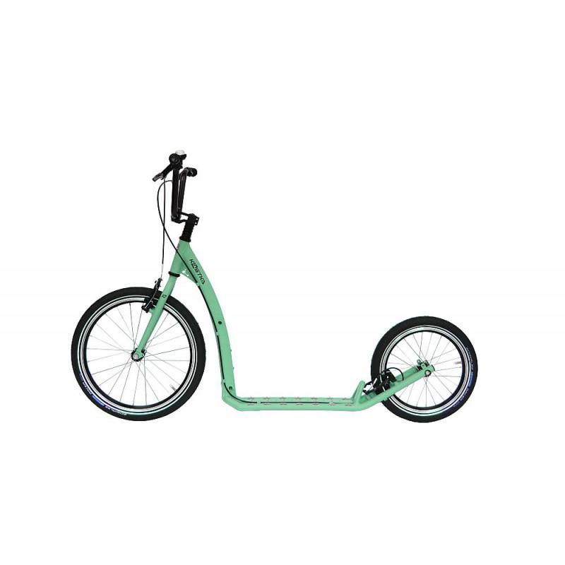 Koloběžka KOSTKA Hill Max, pastel green - ZDARMA dopravné (Nakupujte u autorizovaného prodejce KOSTKA!)