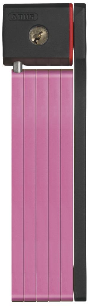 Zámek ABUS uGrip Bordo 5700, barva růžová (Zámek na kolo, délka 80 cm)