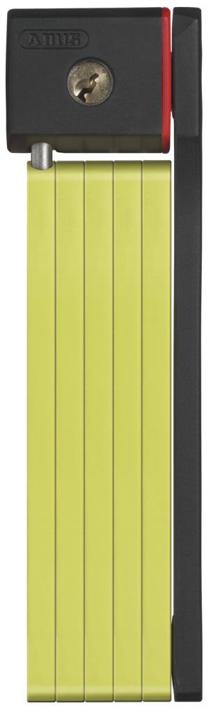 Zámek ABUS uGrip Bordo 5700, barva limetková (Zámek na kolo, délka 80 cm)
