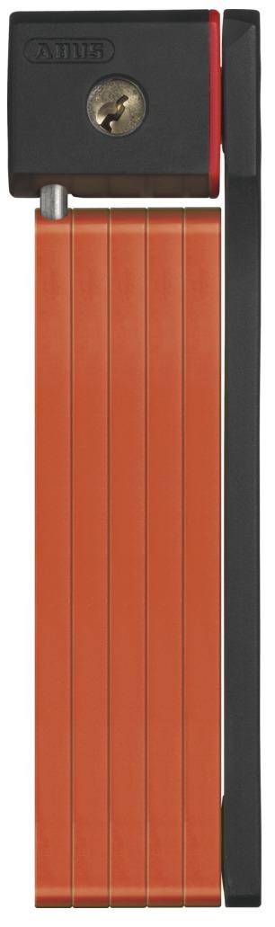 Zámek ABUS uGrip Bordo 5700, barva oranžová (Zámek na kolo, délka 80 cm)