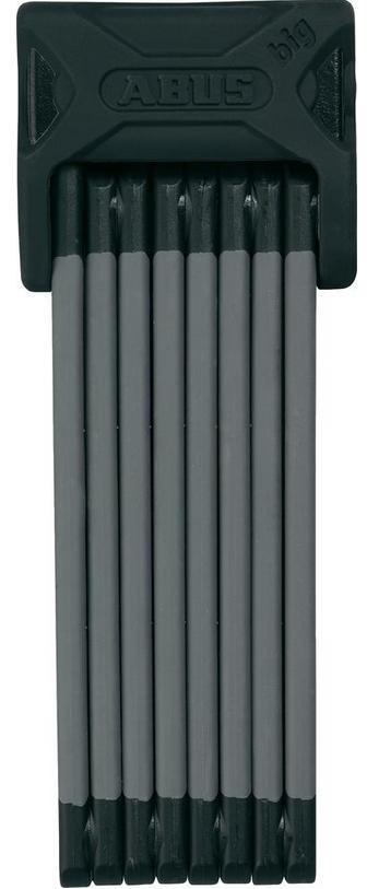Zámek ABUS Bordo Big 6000, barva černá (Zámek na kolo, délka 120 cm)