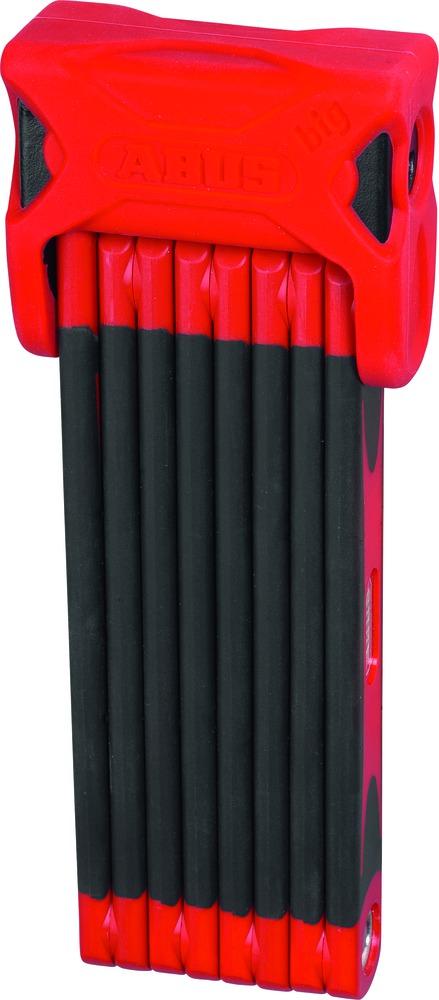 Zámek ABUS Bordo Big 6000, barva červená (Zámek na kolo, délka 120 cm)