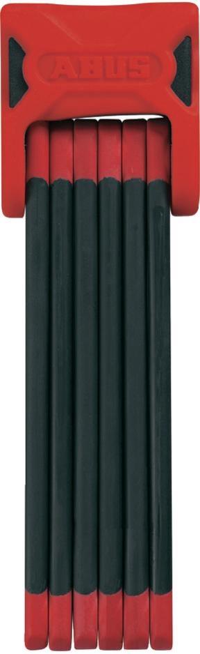 Zámek ABUS Bordo 6000, barva červená (Zámek na kolo, délka 90 cm)