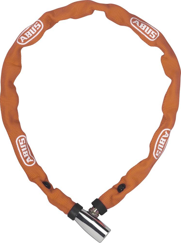 Řetězový zámek ABUS 1500 Web, 110 cm, barva oranžová (Zámek na kolo, délka 110 cm)