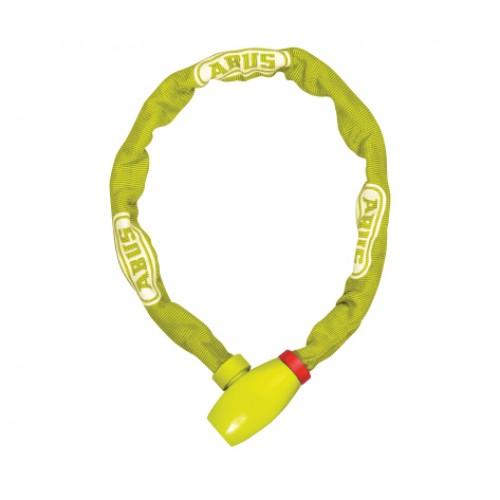Řetězový zámek ABUS uGrip Chain 585, 75 cm, barva limetková (Zámek na kolo, délka 75 cm)