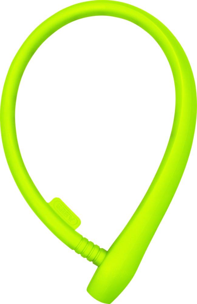 Dětský zámek ABUS uGrip Cable 560, 65 cm, barva limetková (Dětský zámek na kolo, délka 65 cm)