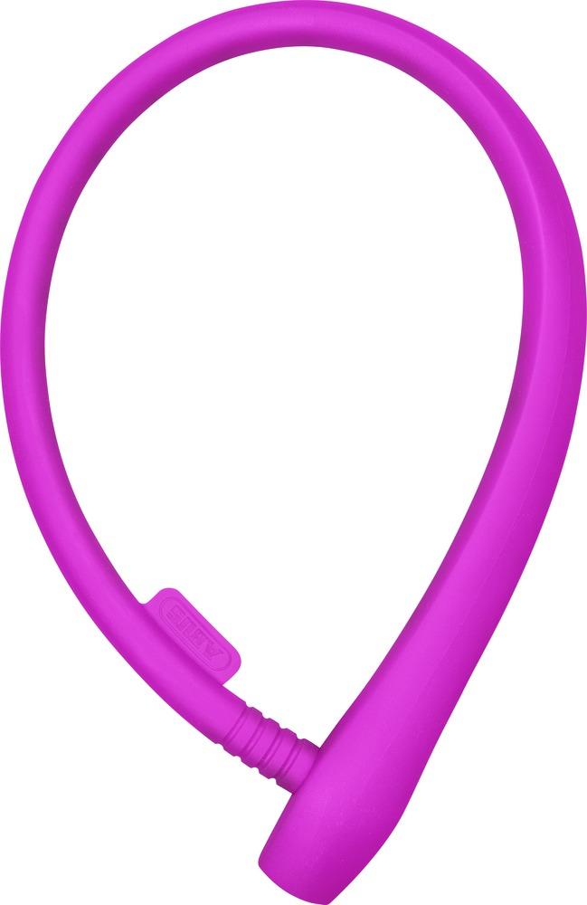 Dětský zámek ABUS uGrip Cable 560, 65 cm, barva růžová (Dětský zámek na kolo, délka 65 cm)