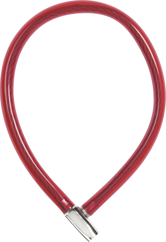 Dětský zámek ABUS 650, 65 cm, barva červená (Dětský zámek na kolo, délka 65 cm)