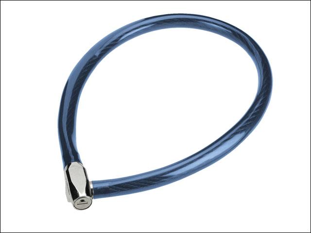 Dětský zámek ABUS 650, 65 cm, barva modrá (Dětský zámek na kolo, délka 65 cm)