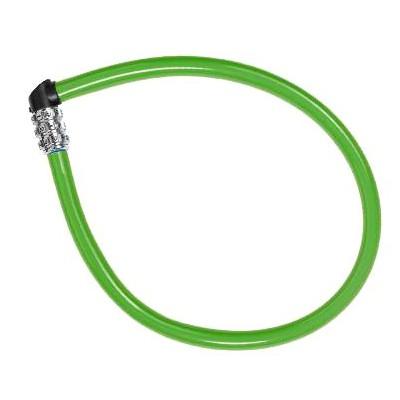 Dětský zámek ABUS 1100 Kids, 55 cm, barva zelená (Dětský zámek na kolo, délka 55 cm)