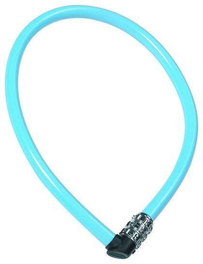Dětský zámek ABUS 1100 Kids, 55 cm, barva modrá (Dětský zámek na kolo, délka 55 cm)