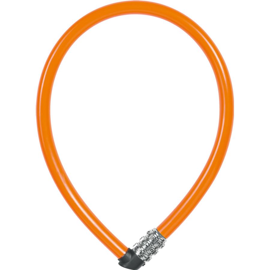 Dětský zámek ABUS 1100 Kids, 55 cm, barva oranžová (Dětský zámek na kolo, délka 55 cm)