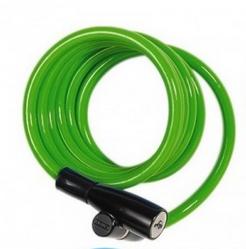 Dětský zámek ABUS Numero 1950, 120 cm, barva zelená (Dětský zámek na kolo, délka 120 cm)