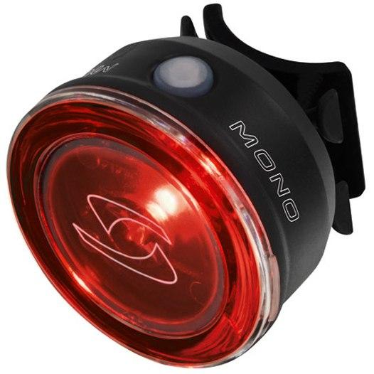 Zadní světlo SIGMA MONO RL, černé (světlo na kolo - blikačka zadní, barva černá)