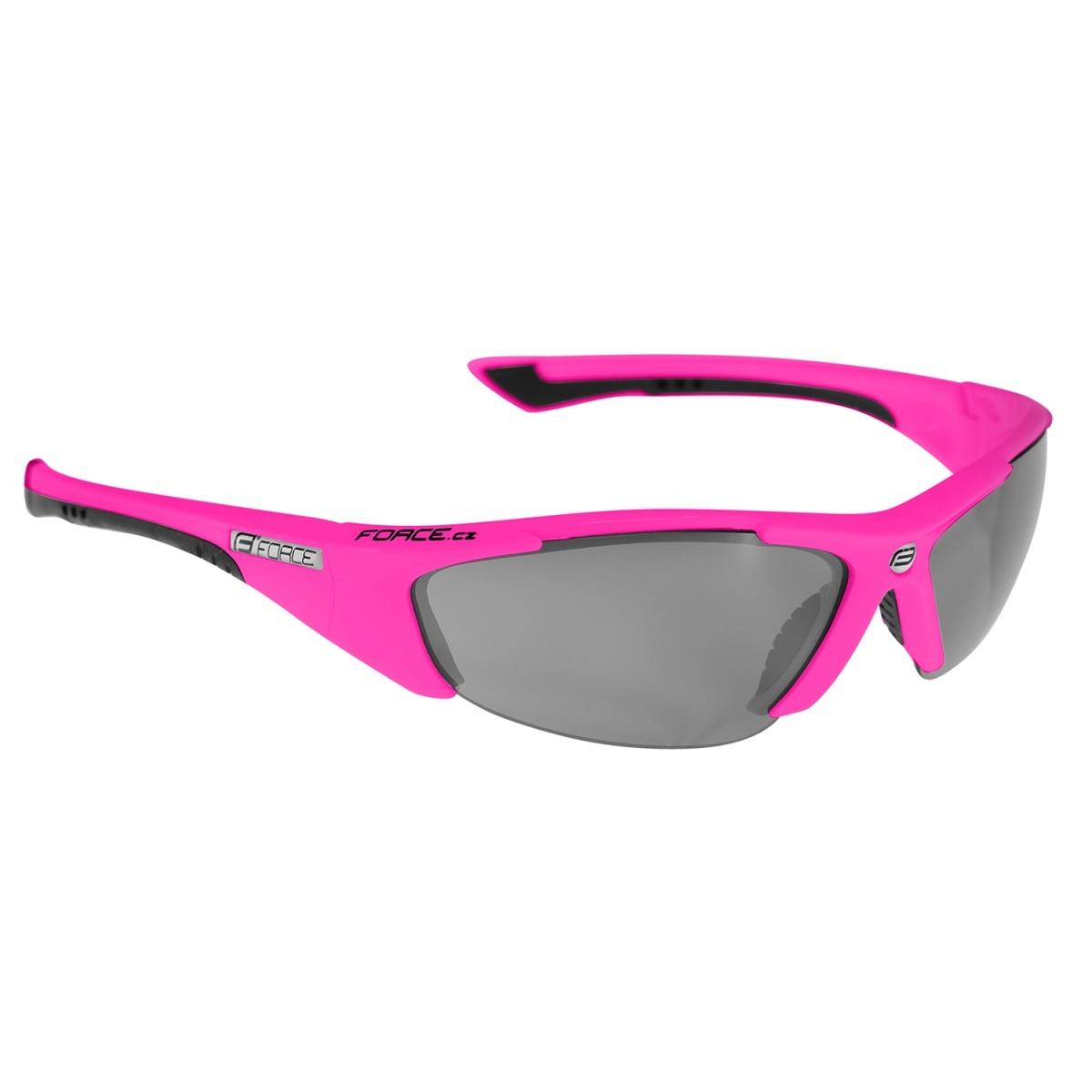 Brýle FORCE LADY růžové, černá laser skla (dámské brýle)