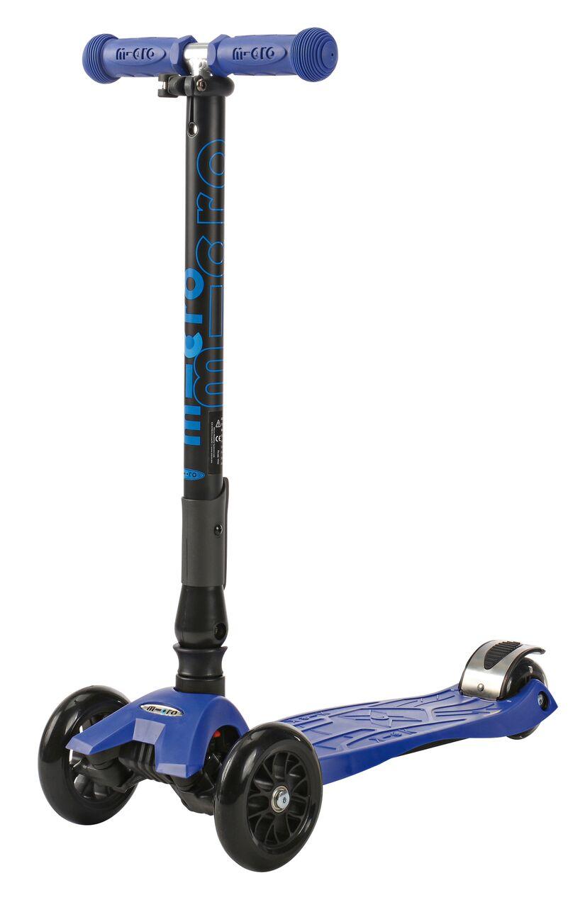 Koloběžka Maxi Micro T skládací, modrá - ZDARMA dopravné a zdravá lahev (barva modrá dle vyobrazení)