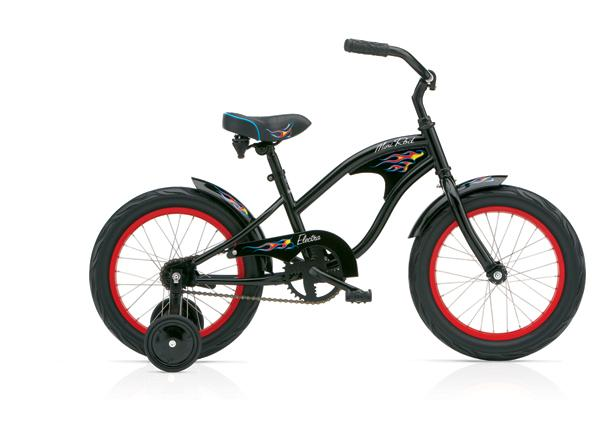 ELECTRA Mini Rod Kids Black Boys' černé 2016