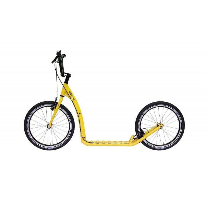 Koloběžka KOSTKA Twenty Max, pastel yellow - ZDARMA dopravné (Nakupujte u autorizovaného prodejce KOSTKA)