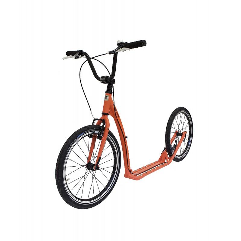 Koloběžka KOSTKA Twenty Star, pastel orange - ZDARMA dopravné (Nakupujte u autorizovaného prodejce KOSTKA)