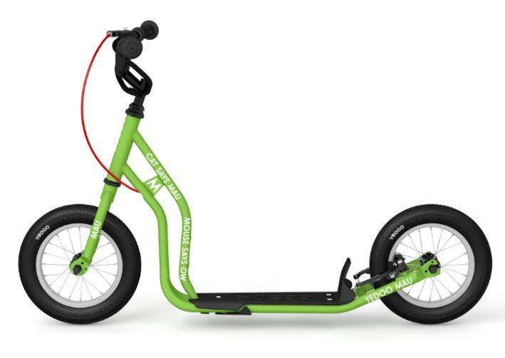Koloběžka YEDOO MAU new green