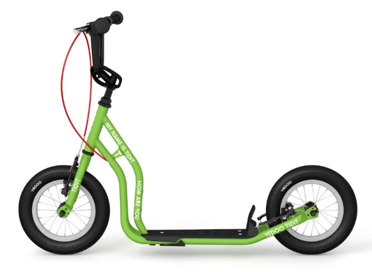 Koloběžka YEDOO TIDIT new green