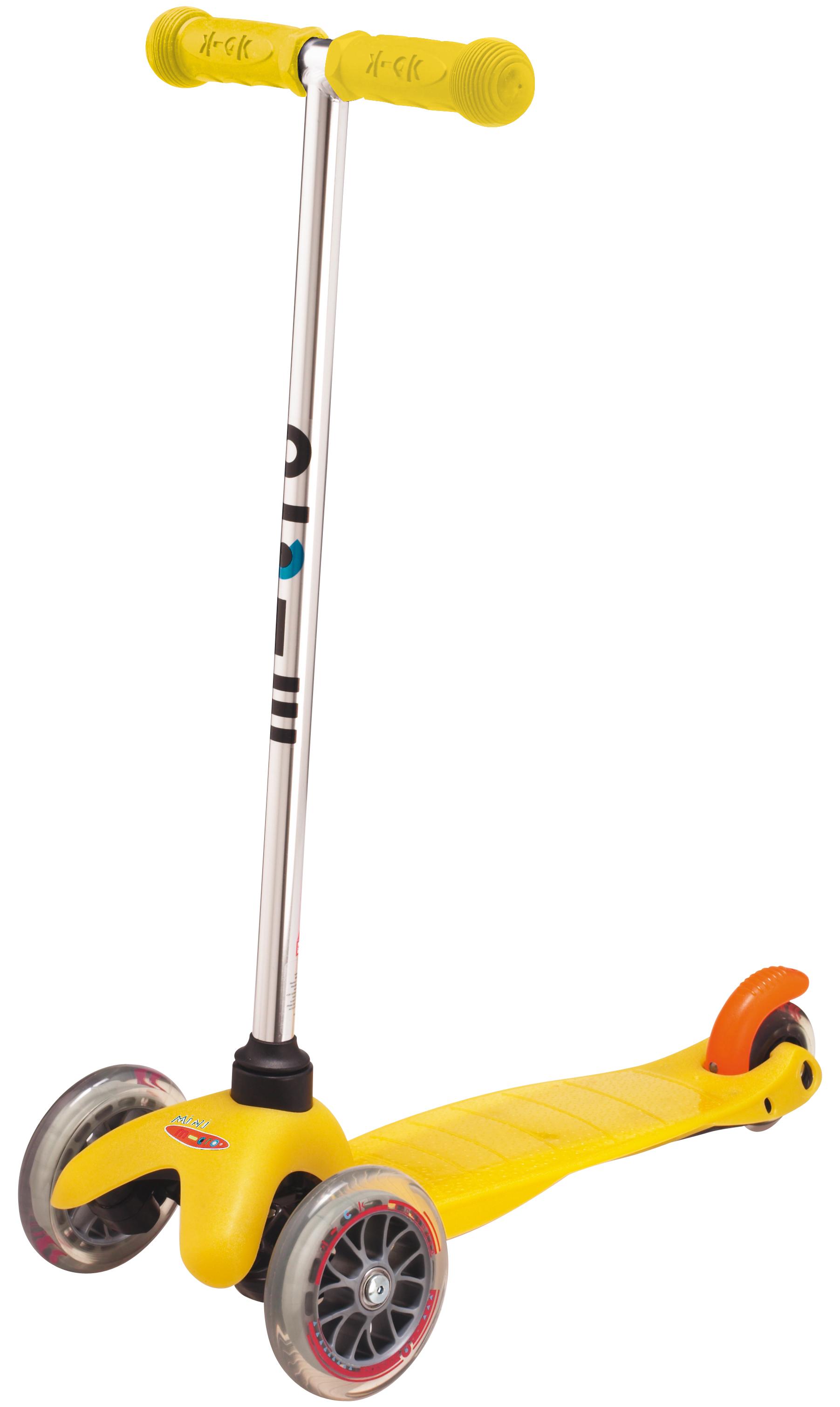 Mini Micro Yellow koloběžka - ZDARMA dopravné (žlutá barva dle vyobrazení)