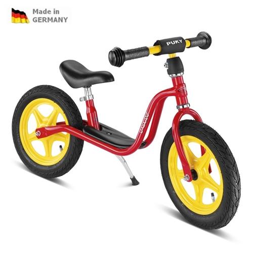 PUKY LR 1L, LR1L červené odrážedlo - ZDARMA dopravné a zdravá lahev (Learner bike standard bez brzdy odrážedlo, odstrkovadlo)