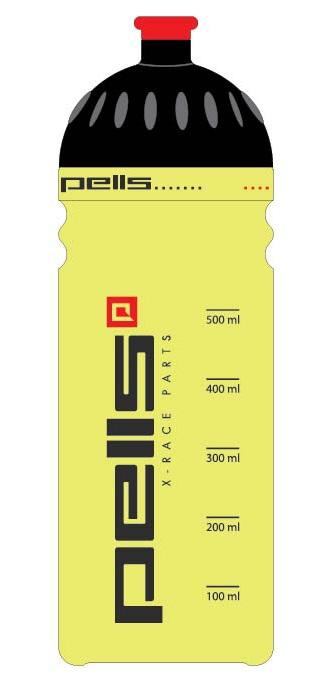 Cyklistická lahev X-RACE neon, objem 0,7l