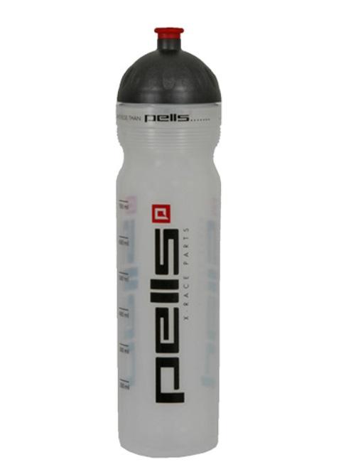 Cyklistická lahev X-RACE čirá, objem 1l
