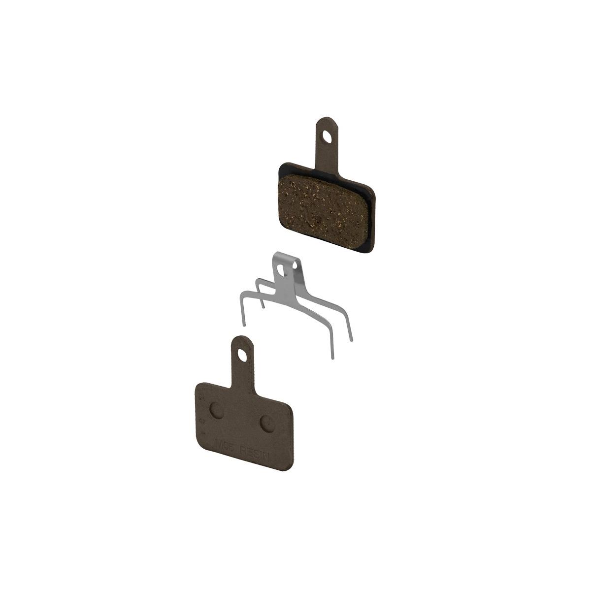 Destičky brzdové SH BRM515 polymerové, s pružinou (Pro mechanické brzdy SHIMANO: BR-M515)