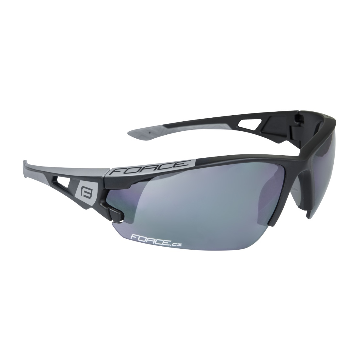 Brýle FORCE CALIBRE černé, černá laser skla (Sportovní brýle )