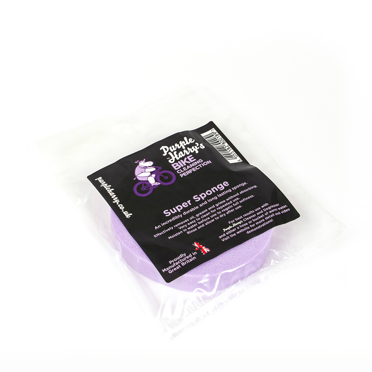 Purple Harry Super Sponge - mycí houba (Nejlepší houba na mytí kol na světě!)