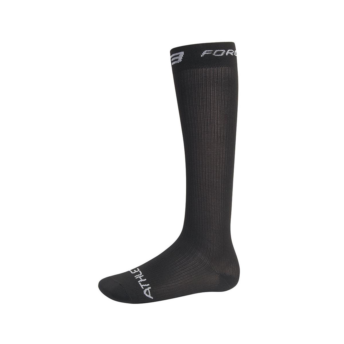 Ponožky FORCE ATHLETIC KOMPRES vel. S-M, černé