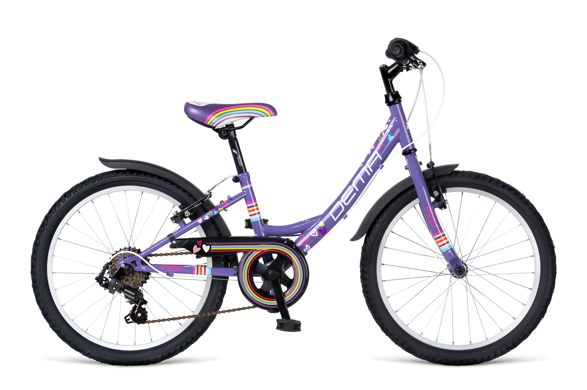 Dema Aggy 20 6sp violet 2017