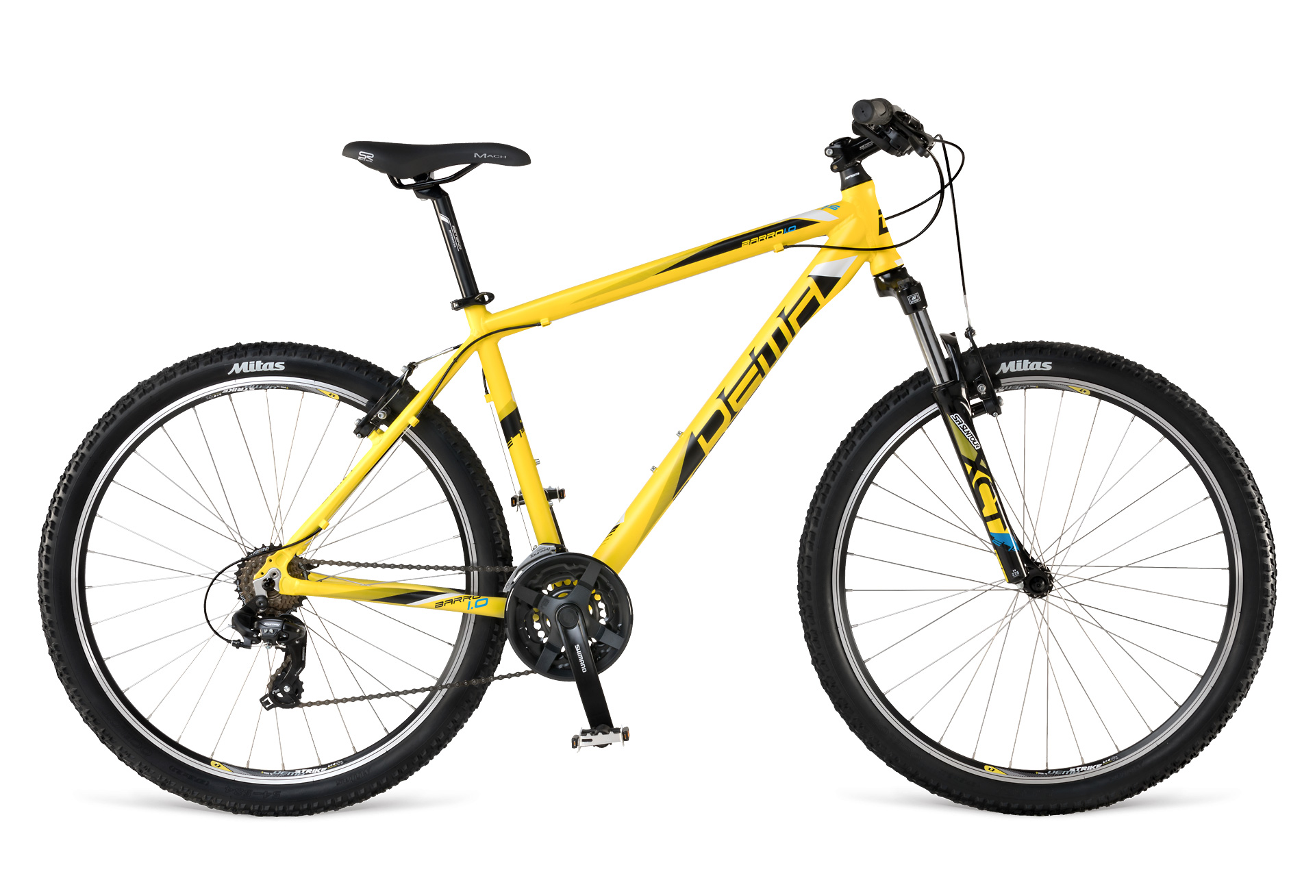 "Dema BARRO 1.0 LTD 2017 17"" yellow-black"