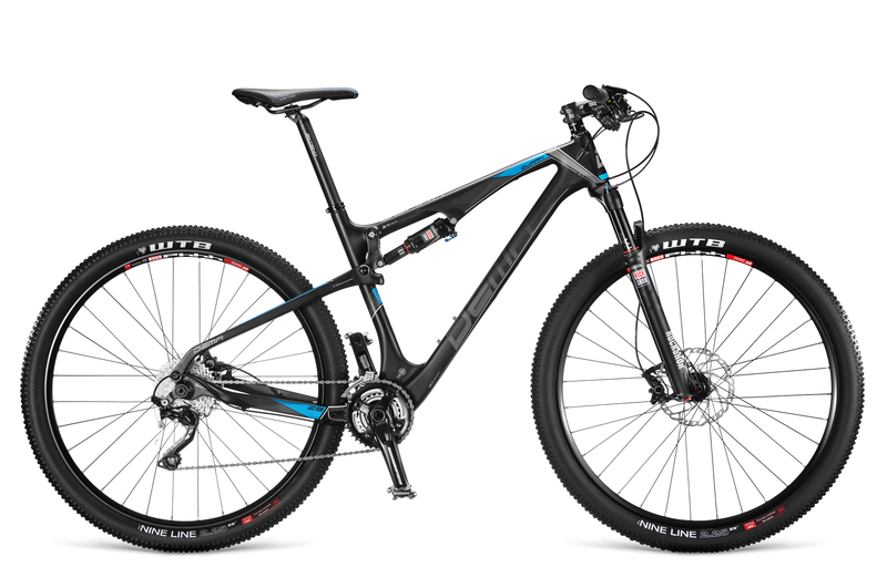 "Dema QUARK 5.0 black-blue 19"", 2016"