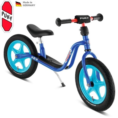 PUKY LR 1L, LR1L modré odrážedlo - ZDARMA dopravné a zdravá lahev (Learner bike standard bez brzdy odrážedlo, odstrkovadlo)