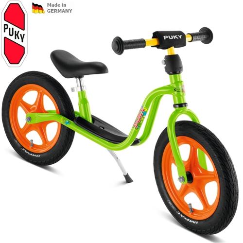 PUKY LR 1L, LR1L zelené NEW odrážedlo - ZDARMA dopravné a zdravá lahev (Learner bike standard bez brzdy odrážedlo, odstrkovadlo)