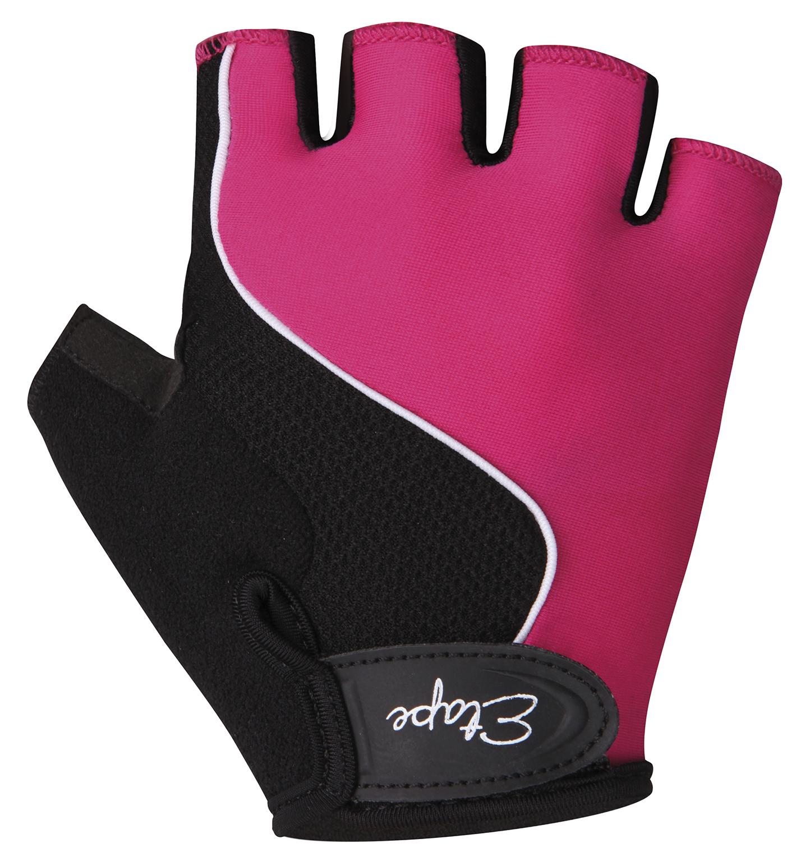 Dětské cyklistické rukavice ETAPE Simple, vel. 5-6, růžová/černá, model 2017 (Dětské cyklistické rukavice )