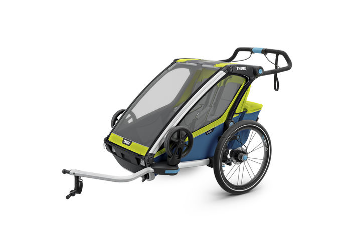 THULE CHARIOT CTS SPORT2, BLUE-GREEN, 2017
