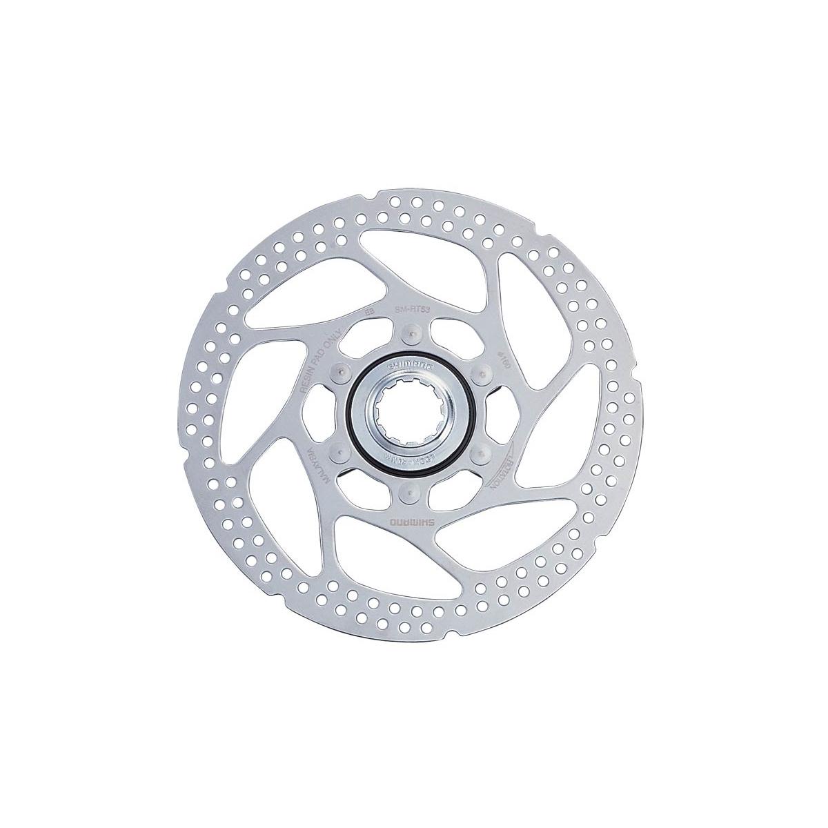Brzdový kotouč SH SMRT54 CENTER LOCK 160 mm, stříbrný