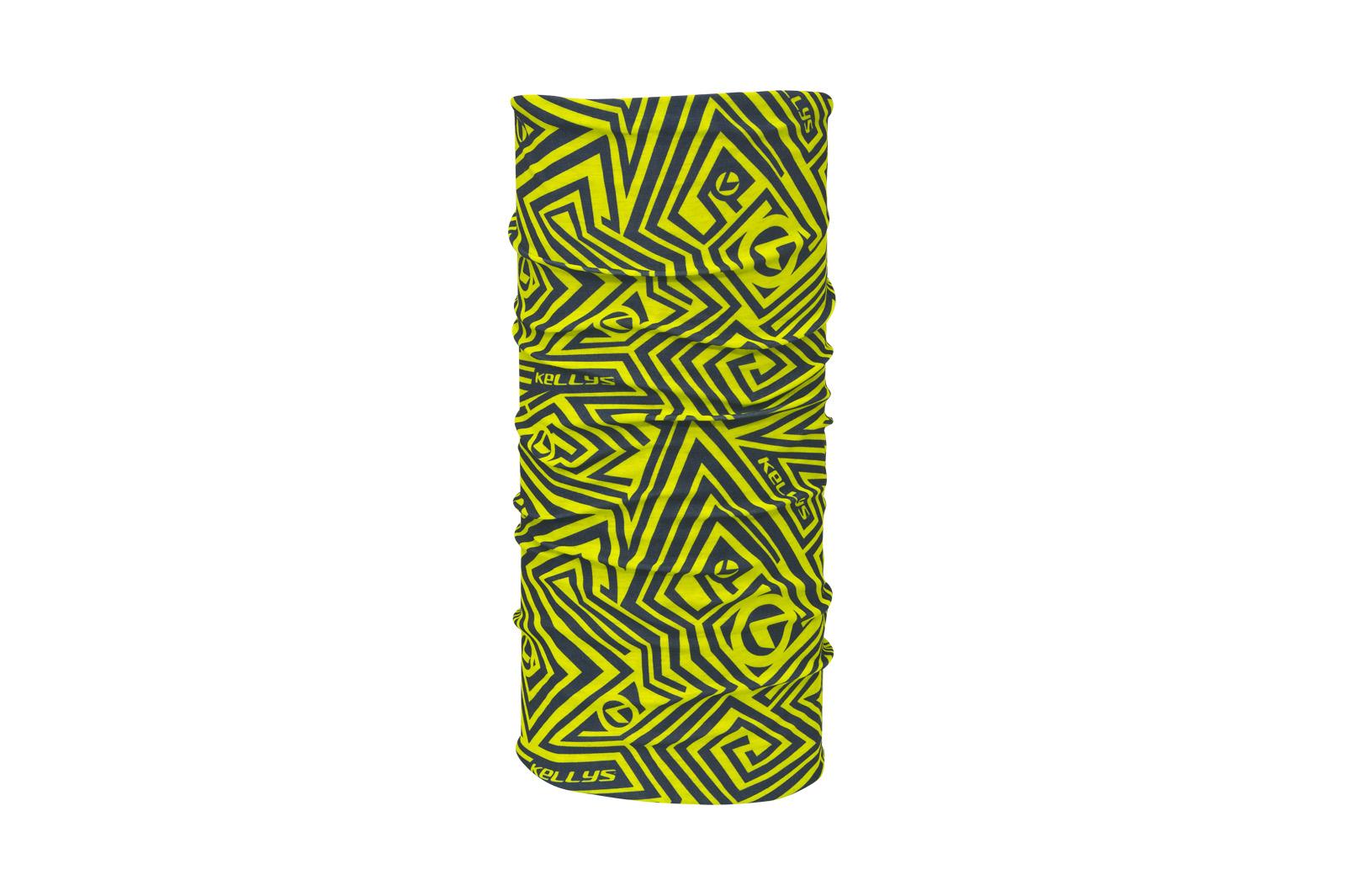 Multifunkční šátek KELLYS LABYRINTH lime