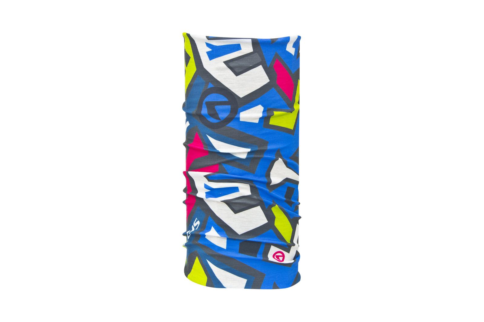 Multifunkční šátek KELLYS TETRIS blue